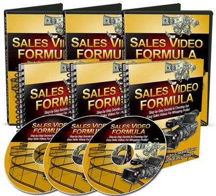 Product picture Sales Video Formula w/MRR