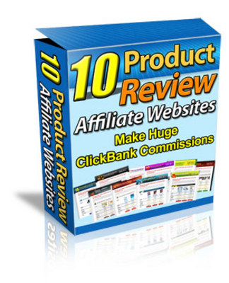 Product picture 10 Premium Affiliate Review Sites w/MRR